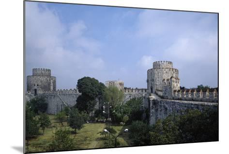 Yedikule Fortress, 15th Century, Istanbul--Mounted Photographic Print