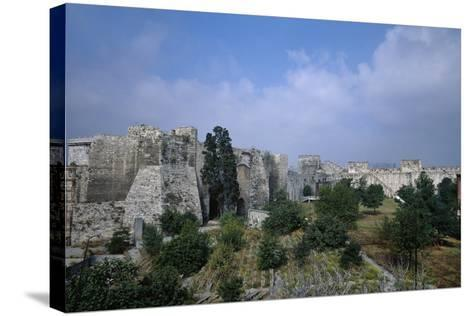 Yedikule Fortress, 15th Century, Istanbul--Stretched Canvas Print