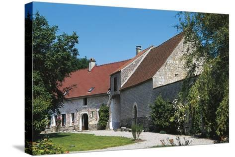 Chateau of Fiennes, Picardy, France--Stretched Canvas Print