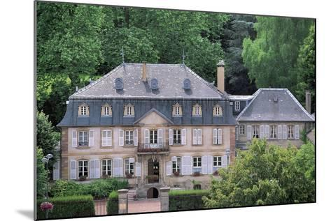 Facade of a Building, Hombourg-Haut, Lorraine, France--Mounted Photographic Print