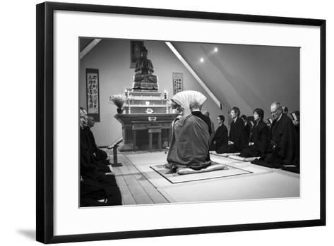 A Ceremony for All Suffering Beings, Zen Monastery Ryumonji, July 2014--Framed Art Print