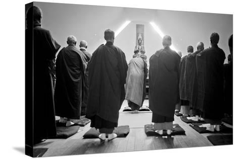 A Ceremony for All Suffering Beings, Zen Monastery Ryumonji, July 2014--Stretched Canvas Print
