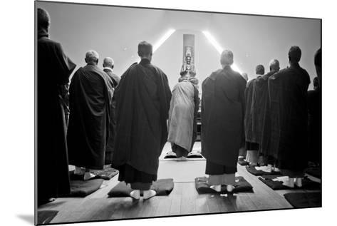 A Ceremony for All Suffering Beings, Zen Monastery Ryumonji, July 2014--Mounted Photographic Print