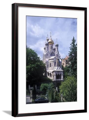 Orthodox Church of Saints Peter and Paul, Karlovy Vary, Czech Republic--Framed Art Print