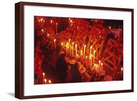 Day of the Dead Celebration, Janitizio, Michoacan, Mexico--Framed Art Print