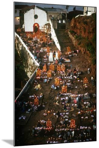 Day of the Dead Celebration, Janitizio, Michoacan, Mexico--Mounted Photographic Print
