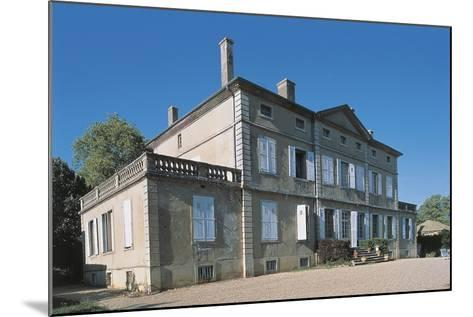 Facade of a Castle, Bonce Castle, Rhone-Alpes, France--Mounted Photographic Print