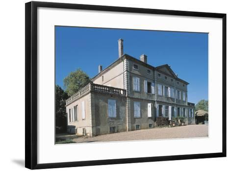 Facade of a Castle, Bonce Castle, Rhone-Alpes, France--Framed Art Print