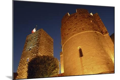 Low Angle View of a Castle, Le Suquet, Cannes, France--Mounted Photographic Print