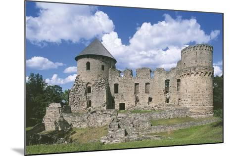 Old Ruins of a Castle, Cesis, Vidzeme, Latvia--Mounted Photographic Print