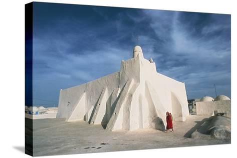 Oum El Turkia Mosque, El May, Djerba, Tunisia--Stretched Canvas Print