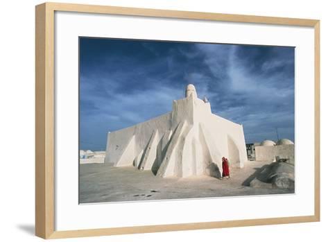Oum El Turkia Mosque, El May, Djerba, Tunisia--Framed Art Print