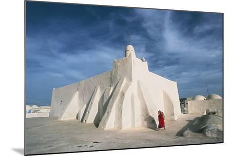 Oum El Turkia Mosque, El May, Djerba, Tunisia--Mounted Photographic Print