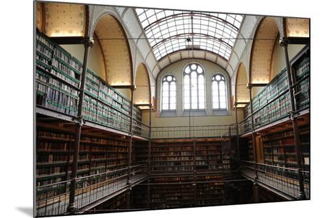 Holland, Amsterdam, Rijksmuseum, Library--Mounted Photographic Print
