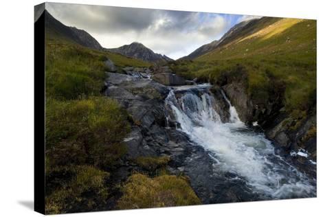 Glen Rosa Mountain Stream, Isle of Arran, North Ayrshire, Scotland, UK--Stretched Canvas Print