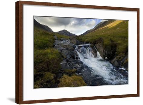 Glen Rosa Mountain Stream, Isle of Arran, North Ayrshire, Scotland, UK--Framed Art Print