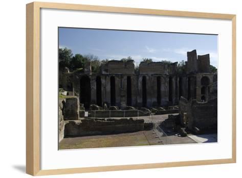 Hadrian's Villa, 2nd Century, Praetorium, Italy--Framed Art Print