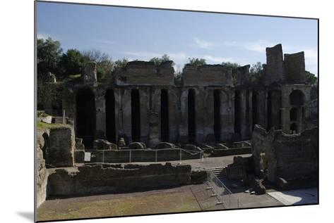 Hadrian's Villa, 2nd Century, Praetorium, Italy--Mounted Photographic Print