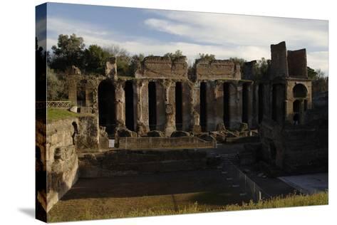 Hadrian's Villa, 2nd Century, Praetorium, Italy--Stretched Canvas Print