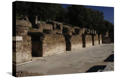 Hadrian's Villa, Hospitalia, 2nd Century, Italy--Stretched Canvas Print