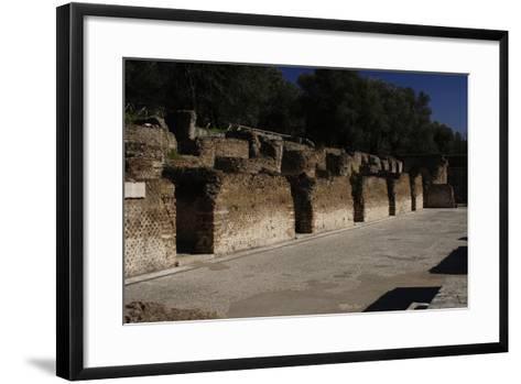 Hadrian's Villa, Hospitalia, 2nd Century, Italy--Framed Art Print