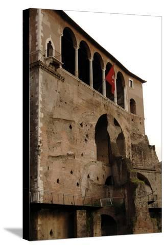Italy, Rome, Museum of the Imperial Fora--Stretched Canvas Print