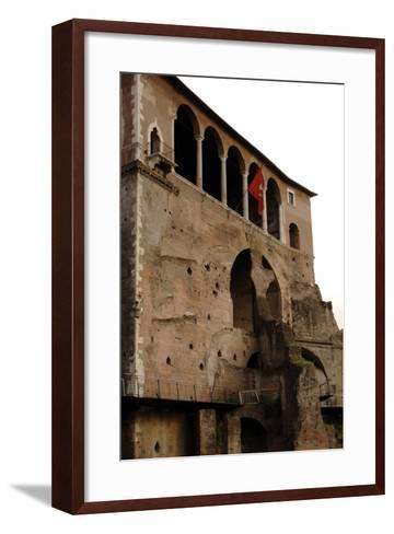 Italy, Rome, Museum of the Imperial Fora--Framed Art Print