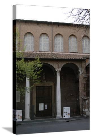 Rome, Basilica of Saint Sabina, Exterior--Stretched Canvas Print