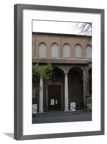 Rome, Basilica of Saint Sabina, Exterior--Framed Art Print