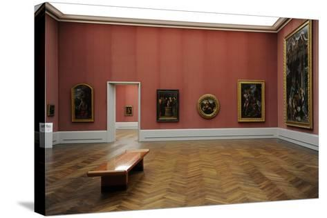 Gemaldegalerie, Interior, Berlin--Stretched Canvas Print