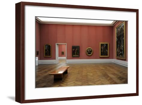 Gemaldegalerie, Interior, Berlin--Framed Art Print