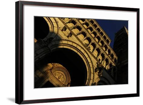 Italy, Lucca, Cathedral of Saint Martin, Facade--Framed Art Print