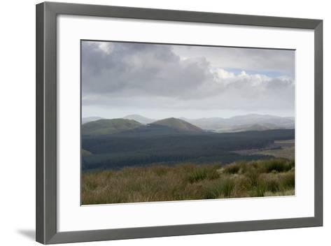 The Cheviot Hills, Seen from Carter Bar, Scottish/English Border, UK--Framed Art Print