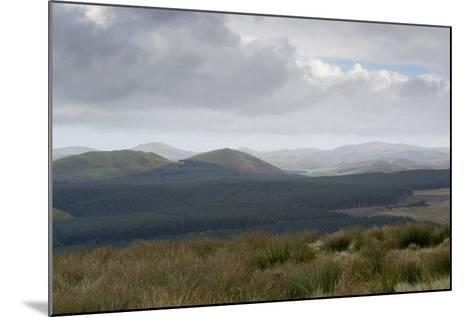 The Cheviot Hills, Seen from Carter Bar, Scottish/English Border, UK--Mounted Photographic Print