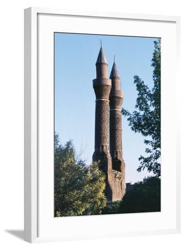 Twin Minaret Madrasa, Sivas, Central Anatolia, Turkey--Framed Art Print