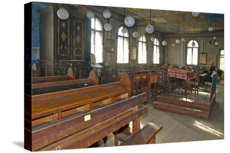 Interior of the Synagogue, Câmpulung Moldovenesc, Romania--Stretched Canvas Print