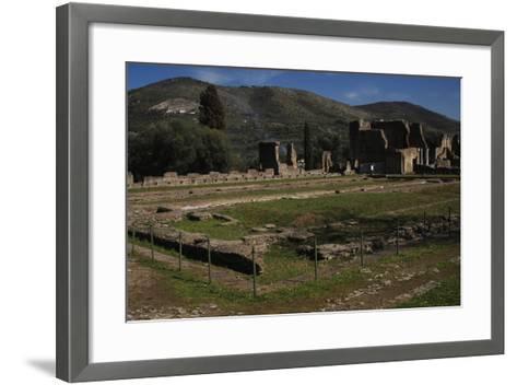 Hadrian's Villa, 2nd Century, Golden Court, Italy--Framed Art Print