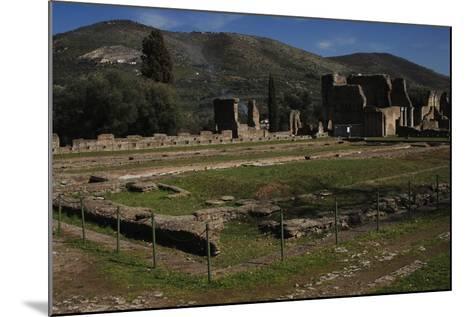 Hadrian's Villa, 2nd Century, Golden Court, Italy--Mounted Photographic Print