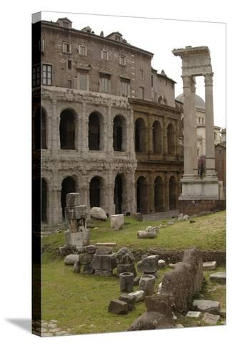 Italy, Rome, Theatre of Marcellus, 1st Century BC--Stretched Canvas Print