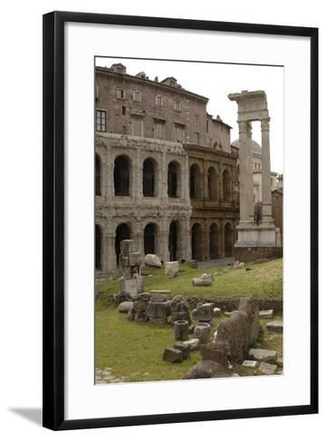 Italy, Rome, Theatre of Marcellus, 1st Century BC--Framed Art Print