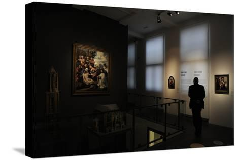 Netherlands, Utrecht, Interior of Centraal Museum--Stretched Canvas Print
