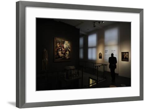 Netherlands, Utrecht, Interior of Centraal Museum--Framed Art Print