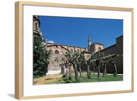 Side View of Pamplona Cathedral, Navarra, Spain--Framed Art Print