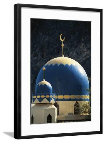 Domes of Mosque of Kalbooh Near Muscat, Oman--Framed Art Print