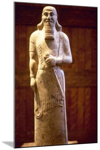 Assyrian King Ashurnasirpal II--Mounted Photographic Print
