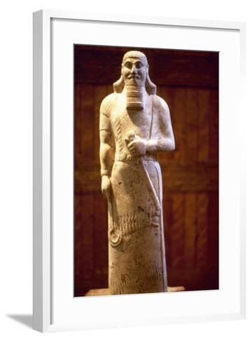 Assyrian King Ashurnasirpal II--Framed Art Print