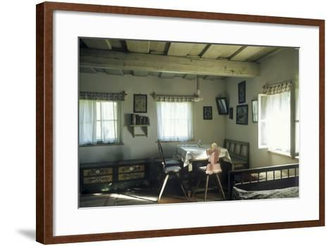 Max Svabinsky?S Country Cottage at Kozlov, Czech Republic--Framed Art Print