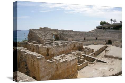 Spain, Tarragona, Roman Amphitheatre, 2nd Century Ad--Stretched Canvas Print