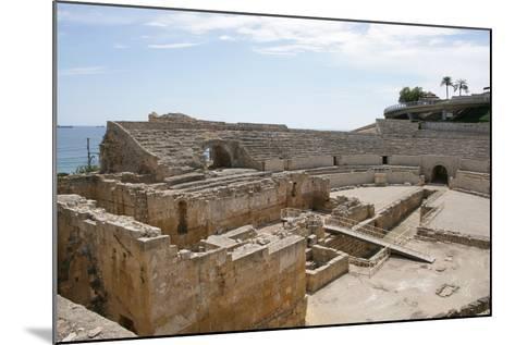 Spain, Tarragona, Roman Amphitheatre, 2nd Century Ad--Mounted Photographic Print