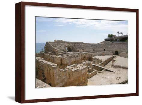 Spain, Tarragona, Roman Amphitheatre, 2nd Century Ad--Framed Art Print
